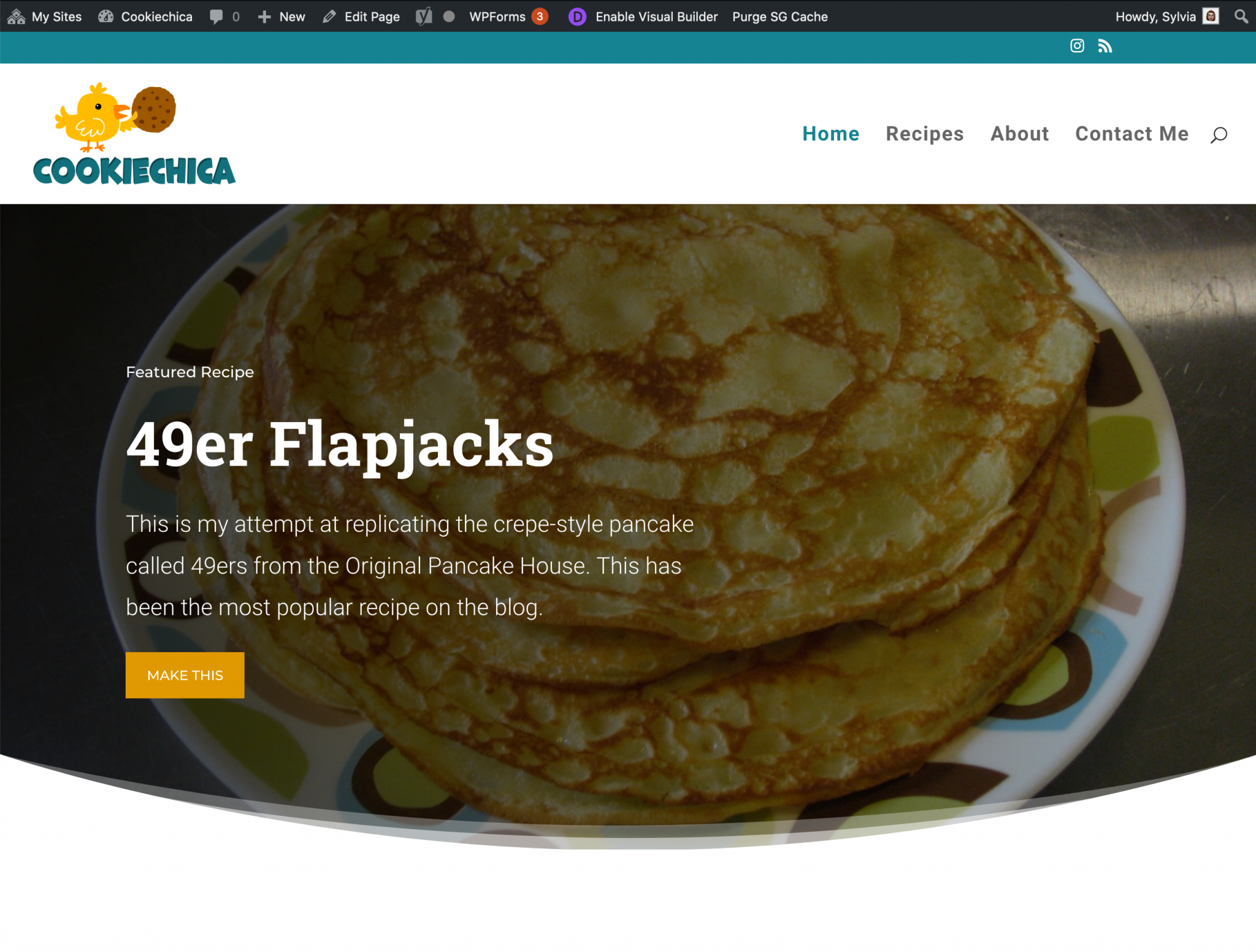 Cookiechica blog