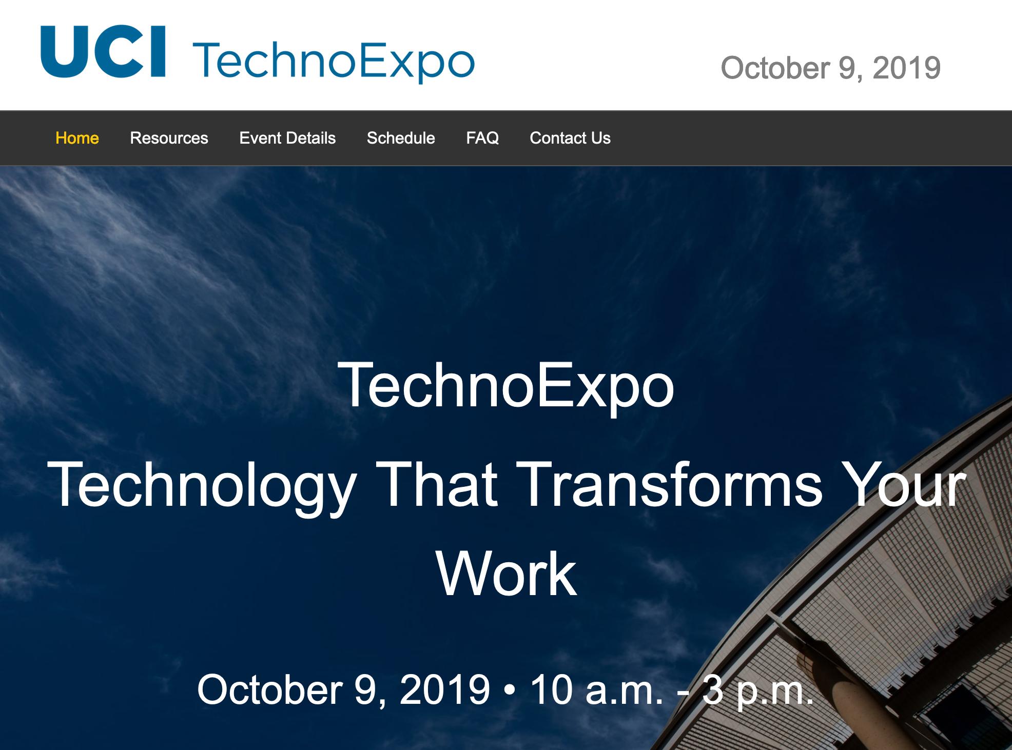 TechnoExpo screenshot