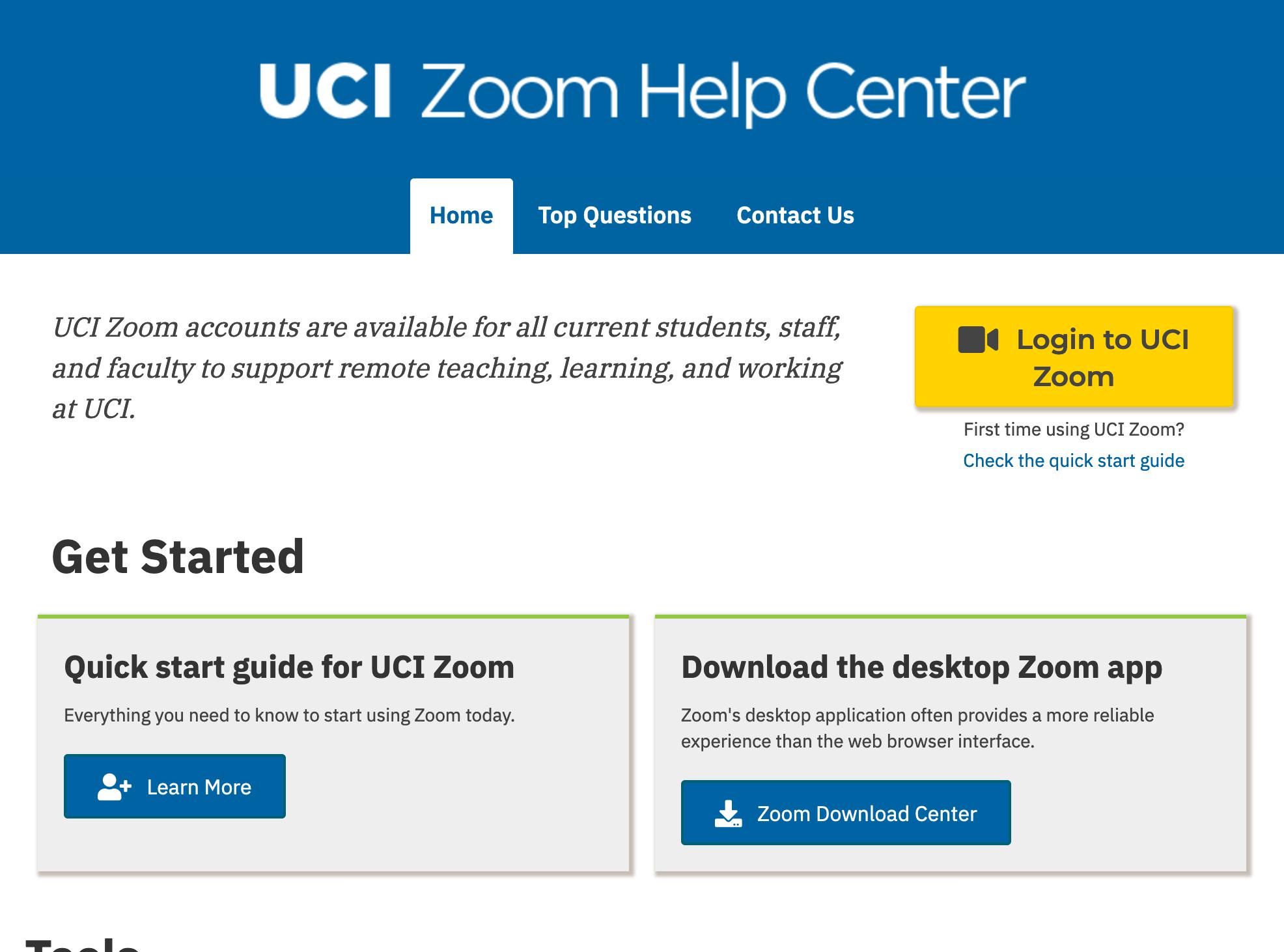 Zoom Help Center